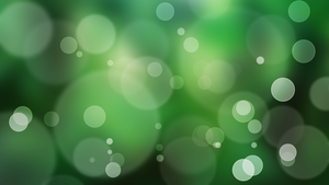 Green Jungle Bokeh Wallpaper by GENAYNAY