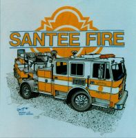 Santee Fire by RamageArt