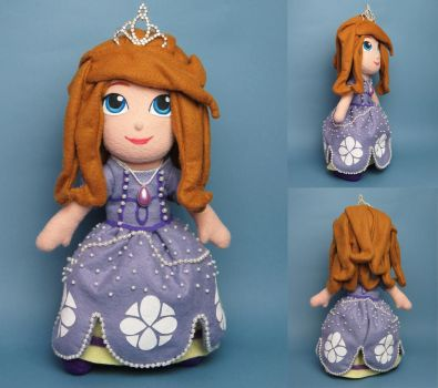 Sofia the First plush by tstelles
