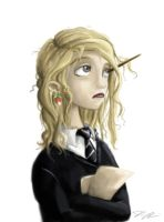 Luna Lovegood by Domiticus