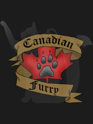 Canadian Furry T-shirt Design by Mist-Fang