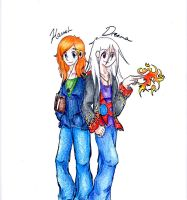 One person two different people by Chibi-redhead13