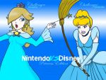 NvsD Rosalina VS Cinderella by lamarce