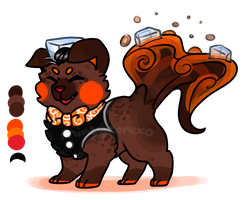 MYO Sushi Dog - Jack Daniels and Coke by mintykoneko