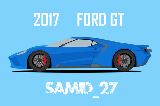 Ford Gt 2017 by Samid27