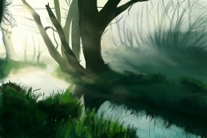 Feb 27th background speedpaint by Vimes-DA