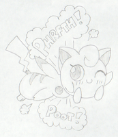 Jigglypuff Face Farts (Request) by awfulartistsketch