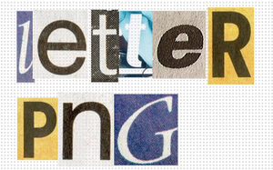 Letters PNG by quellebellehistoire