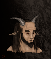Speedpaint Challenge: Satyr by A-Pancake