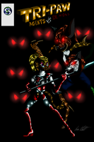 Tri-paw Agents vs Demons cover ch 6 by MrSman5