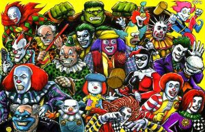 Attack Of The Clowns by olybear