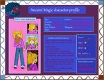 character profiles Ancient Magic Amy by AncientWonder
