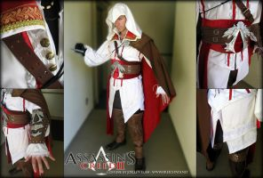 Ezio Assassin's Creed II by Lillyxandra
