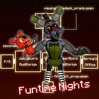 Funtime Nightsmarionne by SpringlesSprangles