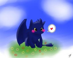 Toothless by konomi-MONSTER