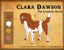 Clara Dawson 'The Girl' by WickedSpecter