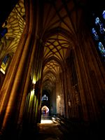 Cathedral in colour by Dogbytes
