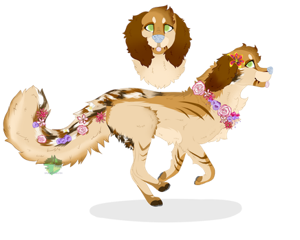 Bouquet adopt aucton (CLOSED) by Ukulelewolfeh
