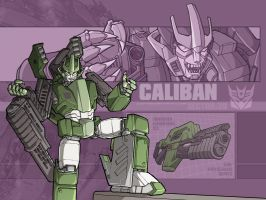 Something mecha - Caliban by juzo-kun