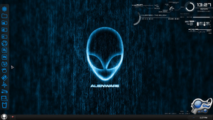 Dark Blue AlienWare by IZzwan125