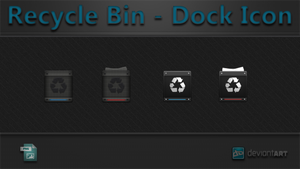 Recycle Bin - Dock Icon by WwGallery