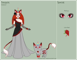 UT - Sanquin Reference Sheet by porcelian-doll