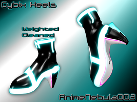 Cybix Heels - AN003 by AnimeNebula003