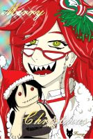 Christmas Grell by fox-xy