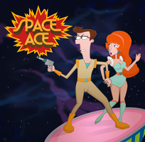 Space Ace? by vectortoon
