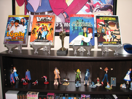 Lupin III DVDs_and new Toys by FilmmakerJ