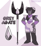 [COMM] Grey Agate by Bardsona