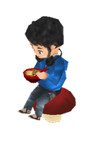 Me Low Poly Chibi by OzMa0