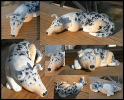 Smooth Collie Sculpt by Peagreen