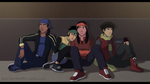 Young Justice - Night on the Street by WyldeElyn