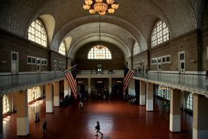 Ellis Island 186 by Doumanis