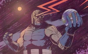 Darkseid by TylerChampion