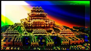 Fractal Temple by stormymay888