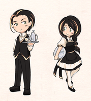 random butler and maid by arashi-yukawa