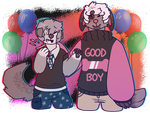 dont party too hard !! by brassboy