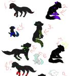 Wolf Adoptables Part 1 out of2 by iceywolf1997