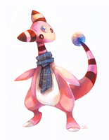 Commission:Shiny Ampharos