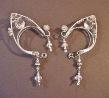 Custom order ear cuffs by jhammerberg