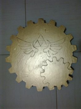 One Day Build : Link's Steampunk Shield (04/04) by LastMinuteReplicas