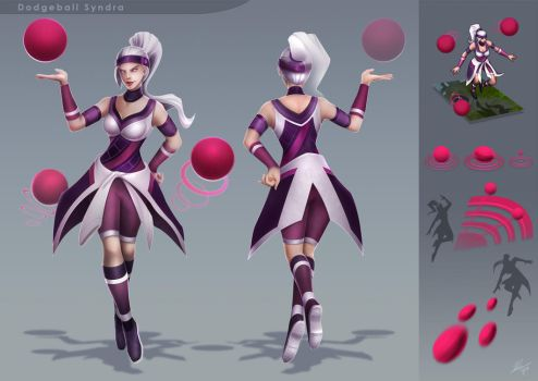 Dodgeball Syndra by VegaColors