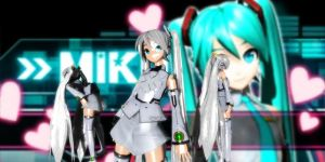 P-Style Miku Dt (White) by GrayFullbuster21