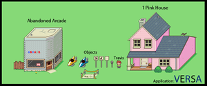 Mother 4 Application - Buildings and Objects by TickTockTinker