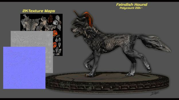WolfHound V1 3D by Decadia