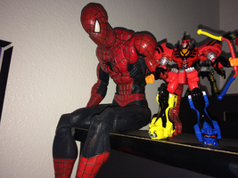 Power Rangers Toy Collection 028: Spider-Man by AnutDraws