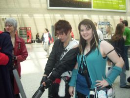 Anime Expo - Squall n Rinoa 3 by BabemRoze