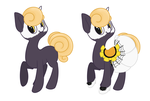 Halloween Pony Adoptable: Open by Tams-secret-twin
